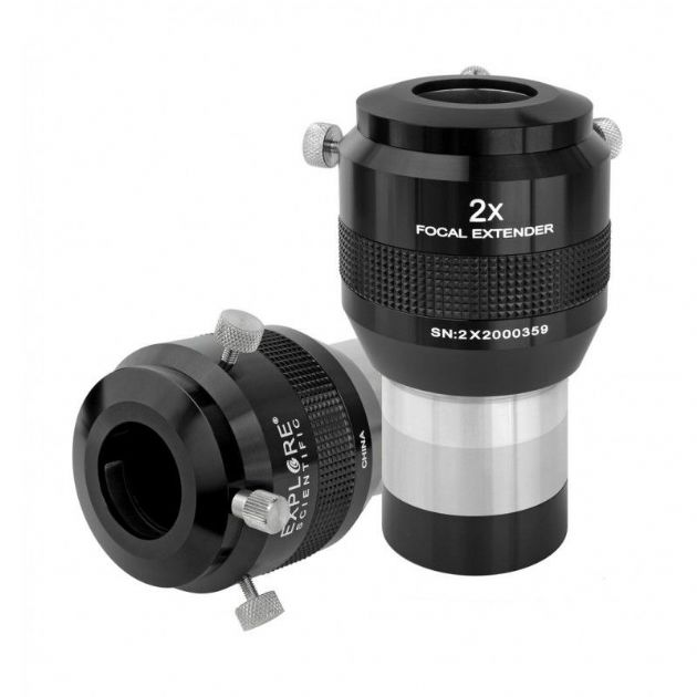 Explore Scientific 2x Barlow - Focal Extender 2.0""